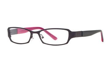 Nicole Miller Abstract SENM ABST00 Bifocal Prescription Eyeglasses - Black Cherry SENM ABST005235 BK