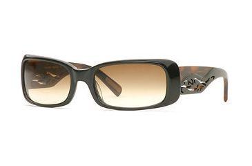 Nicole Miller Baybreeze SENM BAYB06 Sunglasses - Black Amber SENM BAYB065630 BK