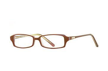 Nicole Miller Bonita SENM BONI00 Bifocal Prescription Eyeglasses - Terracotta SENM BONI005140 BN