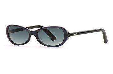 Nicole Miller Carrie On SENM CARR06 Single Vision Prescription Sunglasses SENM CARR065235 BK - Frame Color: Ink, Lens Diameter: 52 mm, Lens Diameter: 48 mm