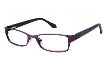 Nicole Miller CLARKSON Bifocal Prescription Eyeglasses - Frame DARK RED NMCLARKSON03