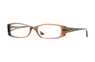 Nicole Miller Collection NL Bellisima SENL BELL00 Bifocal Prescription Eyeglasses - Mink SENL BELL005235 BN
