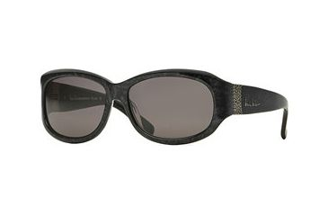 Nicole Miller Collection NL De Luxe SENL DELU06 Sunglasses - Black Oyster SENL DELU065725 BK