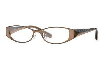 Nicole Miller Collection NL Demure SENL DEMU00 Single Vision Prescription Eyewear - Nutmeg SENL DEMU005140 BN