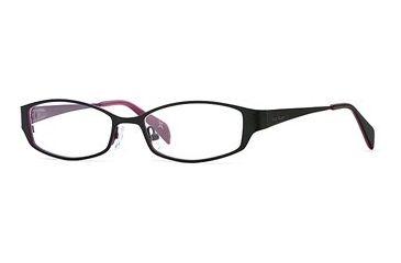 Nicole Miller Collection NL Double Vision SENL DOUB00 Single Vision Prescription Eyewear - Blackberry SENL DOUB005135 BK