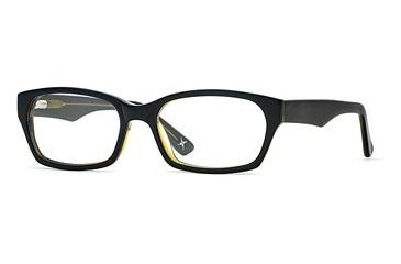 Nicole Miller Collection NL High Society SENL HIGH00 Single Vision Prescription Eyewear - Nocturnal SENL HIGH005335 BK