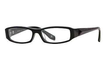 Nicole Miller Collection NL Mode Du Jour SENL MODJ00 Eyeglass Frames - Black Tourmaline SENL MODJ005440 BK