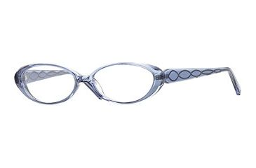 Nicole Miller Collection NL Motif SENL MOTI00 Single Vision Prescription Eyewear - French Bleu SENL MOTI005030 BL