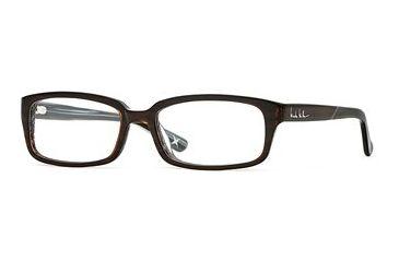Nicole Miller Collection NL Teacher'S Pet SENL TEAC00 Single Vision Prescription Eyewear - Cover That Grey SENL TEAC005330 BN