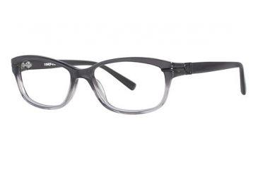 Nicole Miller Essex Single Vision Prescription Eyeglasses - Frame Black Fade, Size 52/15mm NMESSEX01