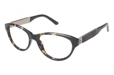 Nicole Miller Fifth Bifocal Prescription Eyeglasses - Frame Tortoise, Size 53/16mm NMFIFTH01