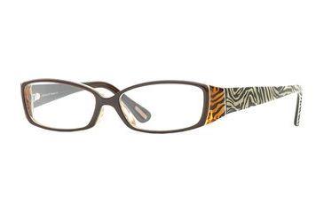 Nicole Miller Glamazon SENM GLAZ00 Single Vision Prescription Eyewear - Zebra SENM GLAZ005340 BK