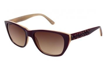 Nicole Miller HOLLAND Sunglasses - Frame Mulberry, Size 53/16mm NMHOLLAND03