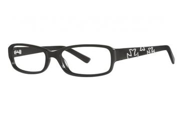 Nicole Miller Houston Bifocal Prescription Eyeglasses - Frame Black, Size 52/15mm NMHOUSTON01