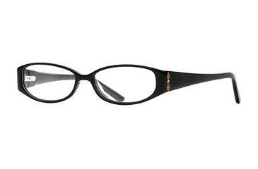 Nicole Miller Malta SENM MALT00 Single Vision Prescription Eyewear - Little Black Dress SENM MALT005235 BK