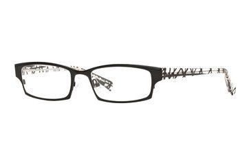 Nicole Miller Outrageous SENM OUTR00 Bifocal Prescription Eyeglasses - Jet SENM OUTR005135 BK
