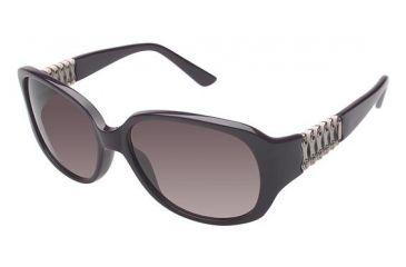 Nicole Miller Ridge Progressive Prescription Sunglasses NMRIDGE03 - Frame Color Eggplant/Eggplant
