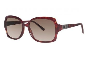 Nicole Miller Sheridan Sunglasses - Frame Red Tortoise, Lens Color Brown Gradient NMSHERIDAN03