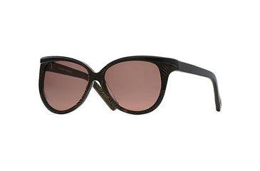 Nicole Miller Tres Chic SENM TRES06 Progressive Prescription Sunglasses SENM TRES065630 BK - Lens Diameter: 60 mm, Lens Diameter: 56 mm, Frame Color: Gold Swirl