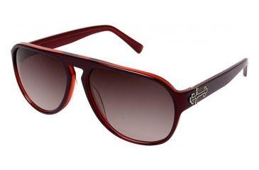 Nicole Miller Tudor Sunglasses - Frame BLACK CHERRY, Size 58/15mm NMTUDOR03