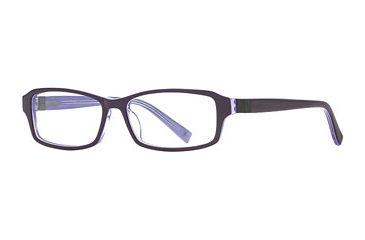 Nicole Miller Urban Warrior SENM URBN00 Progressive Prescription Eyeglasses - Blue Violet SENM URBN005230 BL