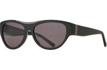Nicole Miller Utilitarian SENM UTIL06 Sunglasses - Onyx SENM UTIL065630 BK