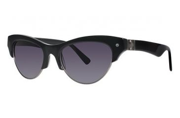 Nicole Miller Vesey Sunglasses - Frame Black, Lens Color Dark Grey Gradient NMVESEY01