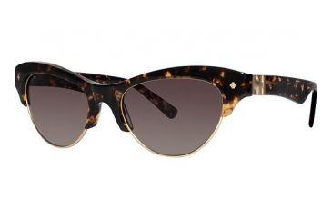 Nicole Miller Vesey Sunglasses - Frame Tortoise, Lens Color Brown Gradient NMVESEY02