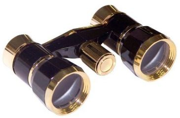 LaScala Optics Rigoletto Opera Glasses 3x25 Central Focusing Binoculars LSR