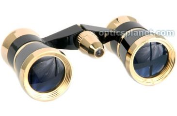 LaScala Optics OTHELLO Opera Glasses 3X25 Binoculars With Red Light