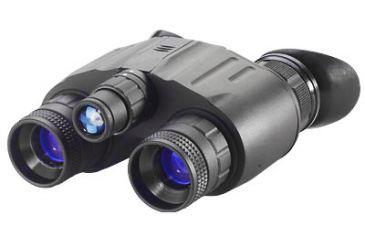Night Optics D-221 Generation 2+ Standard Dual Tube Night Vision Goggle, Black NG-221-2S