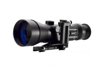 Night Optics D-740 4x Generation 2+ Black and White Night Vision Scope, Black NS-740-2BW