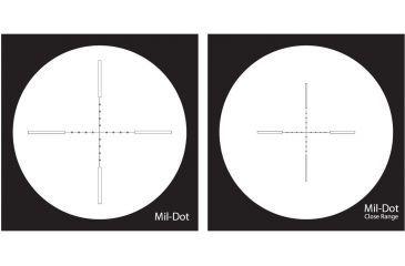 NightForce 3.5-15x50 NXS Illuminated Reticle RifleScope MIL-Dot Reticle