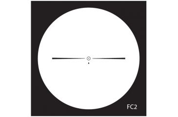 NightForce 1-4x24 NXS Compact Illuminated Reticle Riflescopes NXS24 - FC2 Reticle