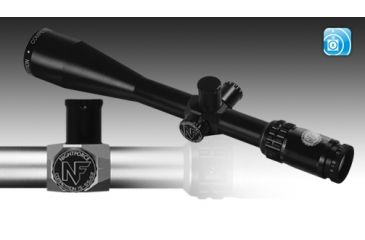 Nightforce COMPETITION - SILVER - 15-55x52mm - .125 MOA - DDR, Silver 2 Tone, 30 mm C490