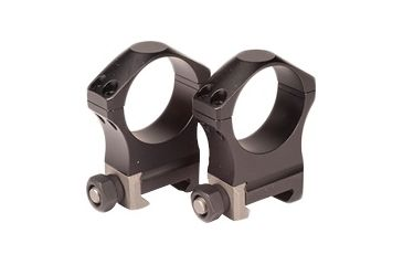 Nightforce Ring Set - 1.00 Medium - 34mm - Ultralite™, 4 Bolt, Black, 1 A223