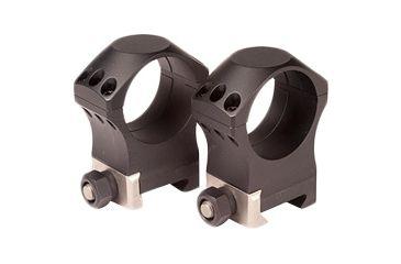 Nightforce Ring Set - 1.00 Medium - 34mm - Ultralite™, 6 Bolt, Black, 1 A208