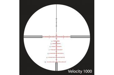 Nightforce 3.5-15x50 Riflescope Velocity 1000 Reticle