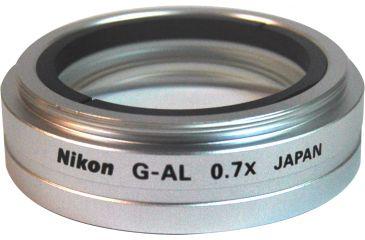 Nikon Microscope G 2X Auxillary Objective