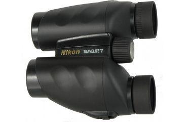 Nikon 10x25 Travelite Binoculars 7510 Top Logo View