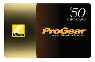 nikon bdc Pro Gear Gift Card