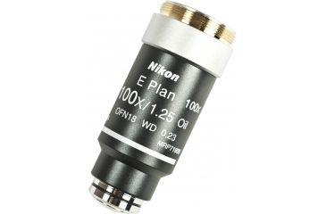 Nikon CFI E Plan Objectives for Microscopes, Magnifications CFI E Plan Microscope Objectives 100X