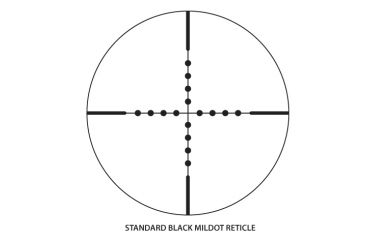 Nikon Monarch X Rifle Scope - 8412 Mil Dot reticle