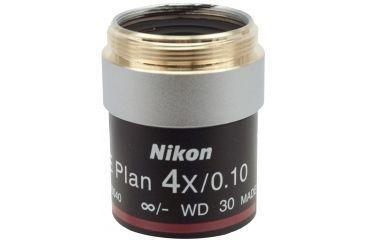 Nikon CFI E Plan Objectives for Microscopes, Magnifications Nikon CFI E Plan Microscope Objectives 4X