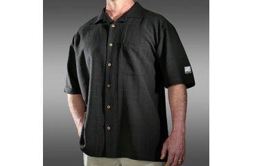 Nikon ProGear Black Men's Silk Camp Shirt