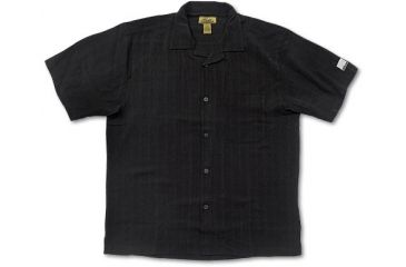 Nikon Pro Gear Men's Silk Camp Shirt-Black F09007-02