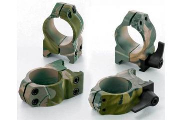 Nikon REALTREE Hardwoods Green HD Medium Riflescope Rings