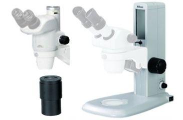 SMZ-745T Trinocular Stereomicroscope w/ C10X Widefield Eyepiece and C-PS Plain Focusing Stand