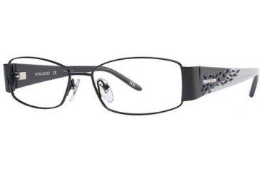 Nina Ricci NR2255 Eyeglass Frames - Frame Black/Silver, Size 53/15mm NR2255F01