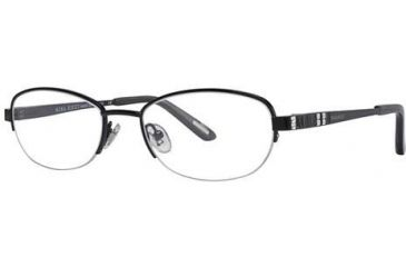 Nina Ricci NR2260F Single Vision Prescription Eyeglasses - Frame Black, Size 51/18mm NR2260F01